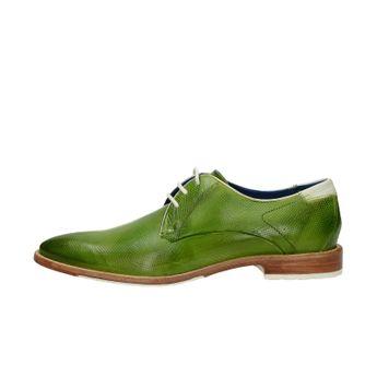 78124cb25a26 Daniel Hechter pánske kožené štýlové topánky - zelené