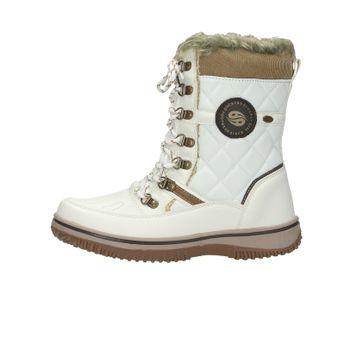 6080be7744f4 Dockers dámske štýlové nízke čižmy - biele