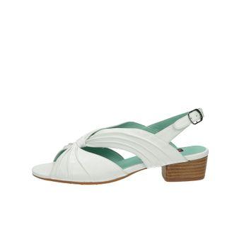 Everybody dámske kožené sandále - biele