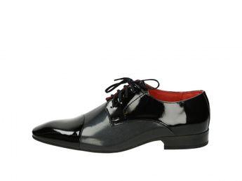 Akcia. Faber pánske topánky - čierne 7cdd617b88e