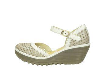 Fly London dámske sandále - šedé