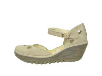 Fly London dámske štýlové sandále - béžové