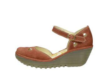 7bcb2d416142 Fly London dámske štýlové sandále - koňakové
