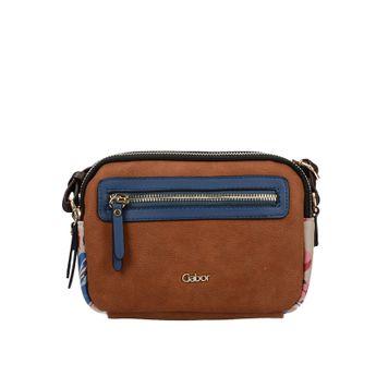 Gabor dámska crossbody štýlová kabelka - hnedá
