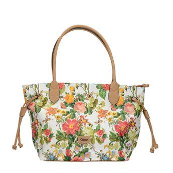 Gabor dámska štýlová kabelka s kvetovým vzorom
