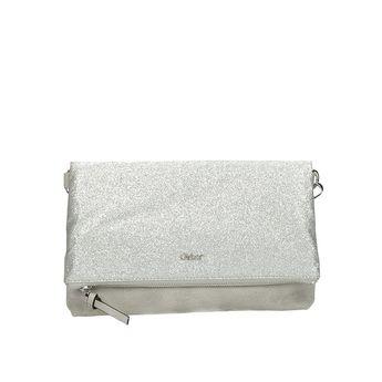 Gabor dámska štýlová kabelka -strieborná