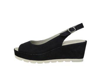 Gabor dámske sandále - čierne