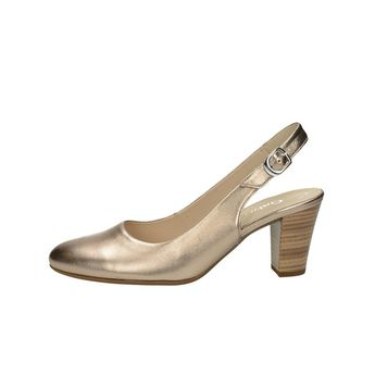 Gabor dámske štýlové sandále s remienkom - bronzové