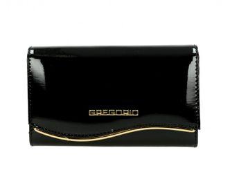 Gregorio dámska peňaženka - čierna