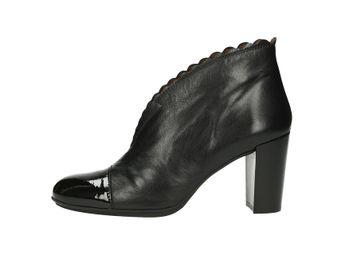 Hispanitas dámske kožené kotníky - čierne 3d828b86c11