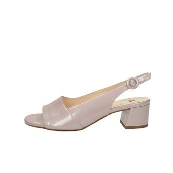 f02b1efe8117 Högl dámske lakované kožené sandále - ružové