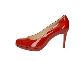 Högl dámske lodičky - červené