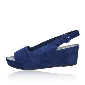 Högl dámske sandále - modré