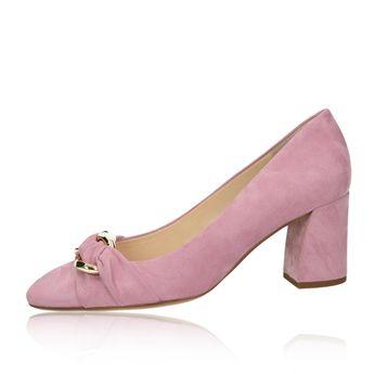 Dámske semišové lodičky - ružové