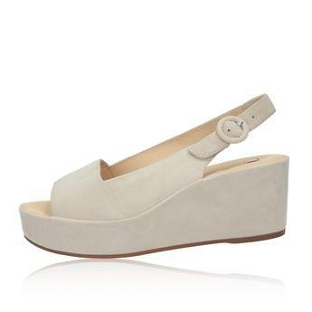 080513d8c2 Högl dámske semišové sandále na klinovej podrážke - ružové