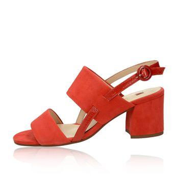 Högl dámske semišové štýlové sandále - červené