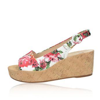 edca64cc93ed9 Högl dámske štýlové sandále s kvetovým motívom - multicolor