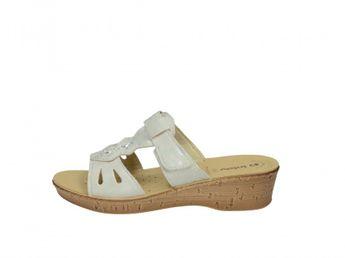 Inblu dámske štýlové šľapky - biele