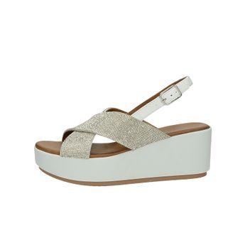 8435ee36f9 Inuovo dámske elegantné sandále na klinovej podrážke - biele