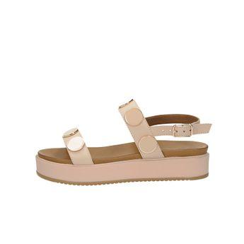 5a6c17f5e8a80 Inuovo dámske kožené štýlové sandále - lososové