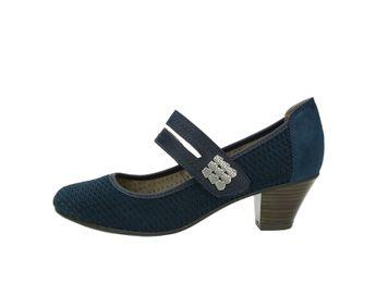 Jana dámske lodičky - modré