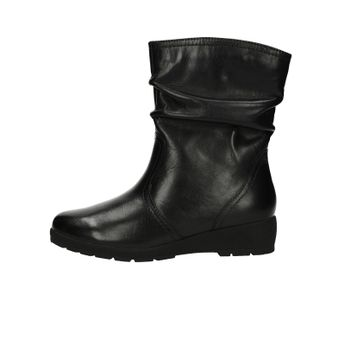 Jana dámske nízke kožené čižmy - čierne 0f03f15f913