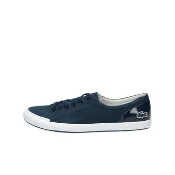 Lacoste dámske štýlové textílne tenisky - modré bb550f45ed7