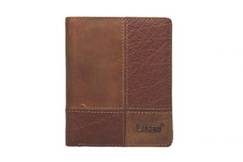 Lagen pánska kožená peňaženka - hnedá