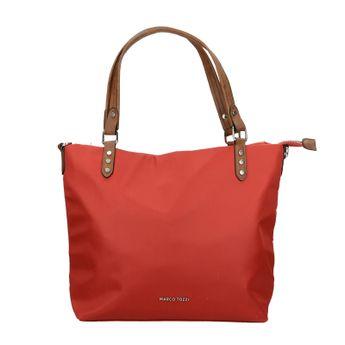 Marco Tozzi dámska štýlová praktická kabelka - červená