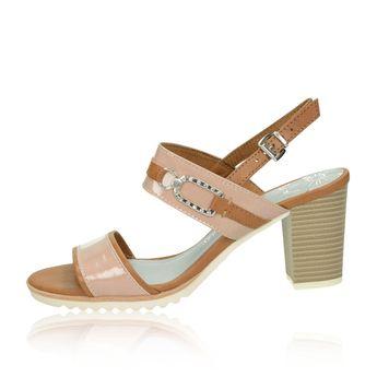 0d3153af6d Marco Tozzi dámske štýlové sandále s remienkom - ružové