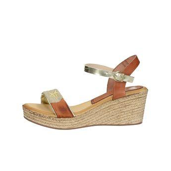 Marila dámske kožené sandále - koňakové cce7d4cabea