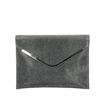 bd44a90f8d8a Menbur dámska spoločenská kabelka - šedá