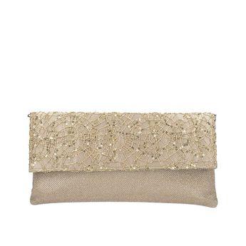 Menbur dámska spoločenská kabelka - zlatá bb8c139213