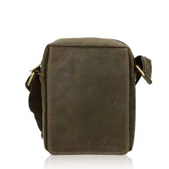 Mercucio pánska kožená taška - hnedá