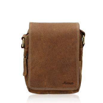 90c7d9cdf2 Mercucio pánska kožená taška - koňaková