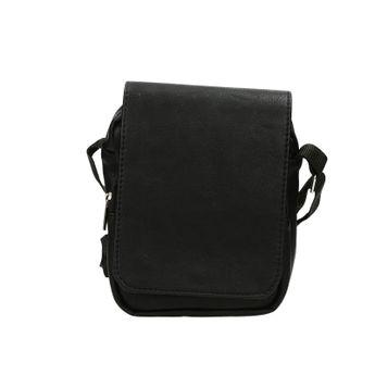 Mercucio pánska štýlová crossbody taška - čierna