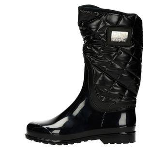 M&G dámske štýlové vysoké čižmy - čierne