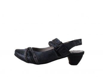 Mustang dámske štýlové sandále - čierne