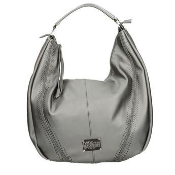 Nóbo dámska elegantná kabelka - strieborná