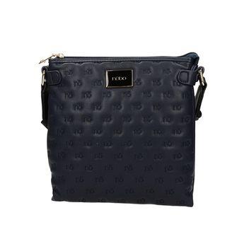 Nóbo dámska vzorovaná crossbody kabelka - modrá 1577b3d39b1