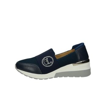 357388e65 Olivia shoes dámske kožené štýlové poltopánky - tmavomodré