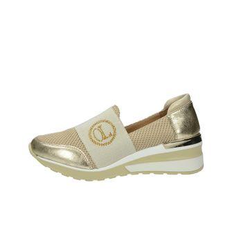Olivia shoes dámske kožené štýlové poltopánky - zlaté