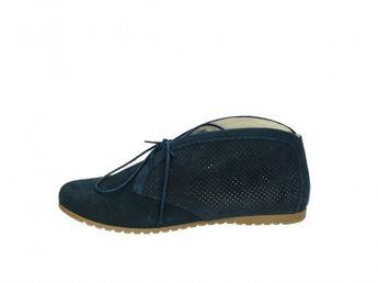 a5ae3cfc1b Olivia shoes dámske kotníky - modré