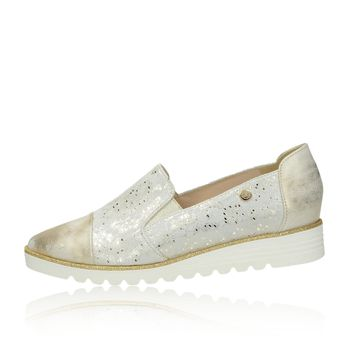 3b0246f70113 Olivia shoes dámske poltopánky na klinovej podrážke - zlaté