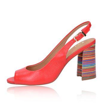 Olivia shoes dámske sandále s remienkom - červené 657623af04d
