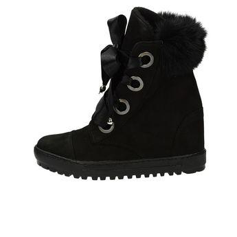 Olivia shoes dámske štýlové kotníky - čierne