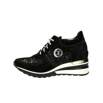Olivia Shoes dámske štýlové kožené kotníky - čierne 803ca77996a