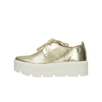 Olivia shoes dámske štýlové poltopánky na platforme - zlaté