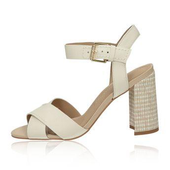 fafed9f8dd15 Olivia shoes dámske štýlové sandále s remienkom - béžové