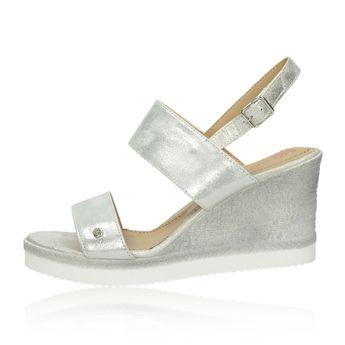 484bce6d4 Olivia shoes dámske štýlové sandále - strieborné